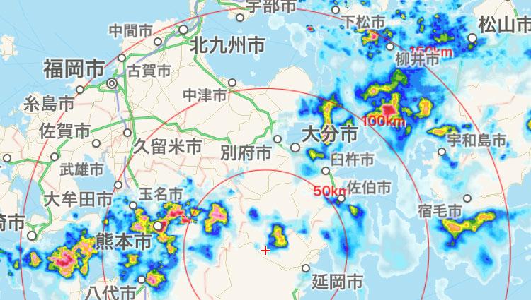 レーダー 佐賀 天気 雨雲